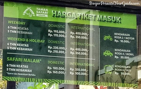 Taman Safari Safari Park Day Tour From Jakarta Or Bogor